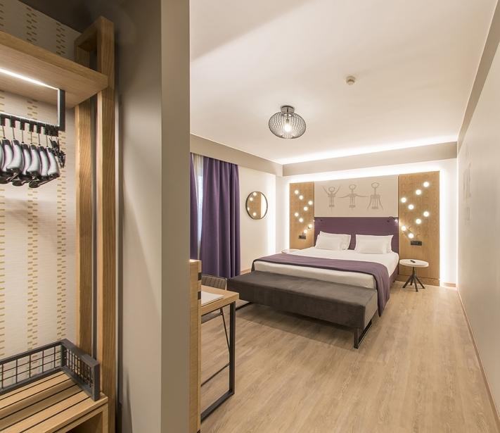 Camere ampie e moderne al BW Plus Soave Hotel