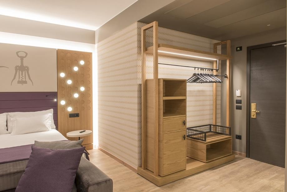 Design innovativo e moderno: camere hotel a San Bonifacio
