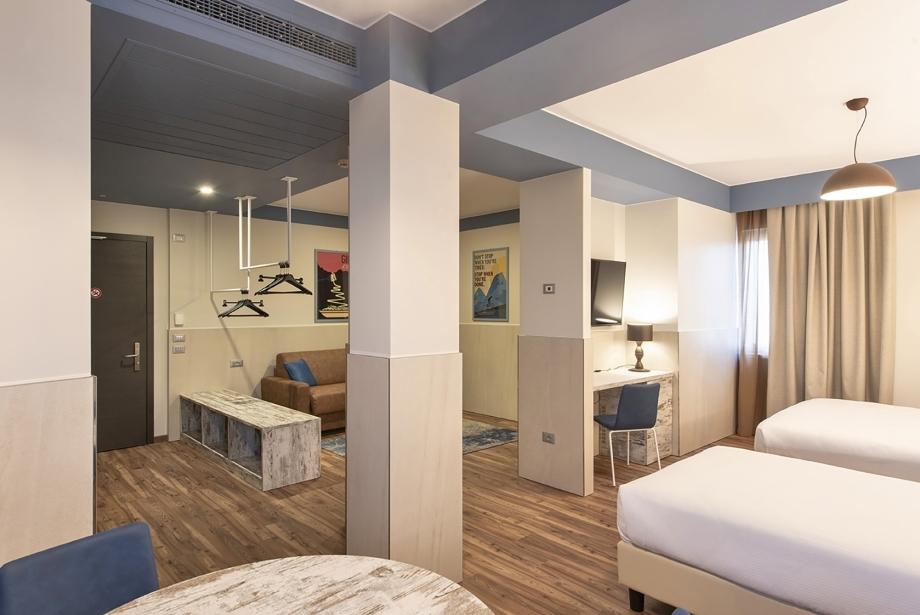 Soave Hotel propone camere comfort di design