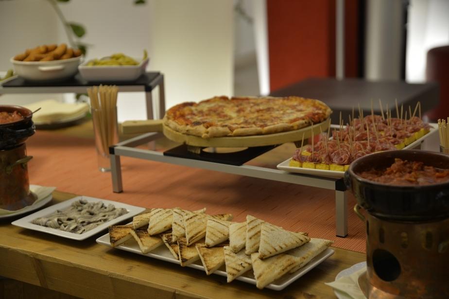 Our aperitif, Soave Hotel