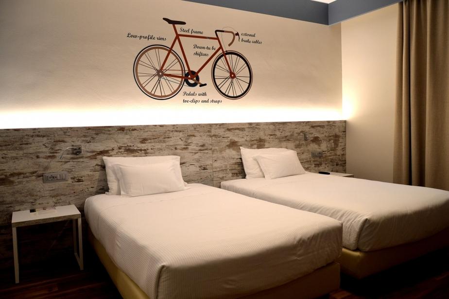Dettagli e design nelle camere del nostro hotel vicino Verona