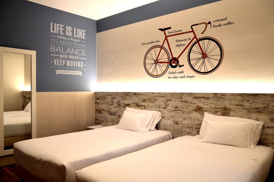 Le camere comfort del Soave Hotel ti aspettano!