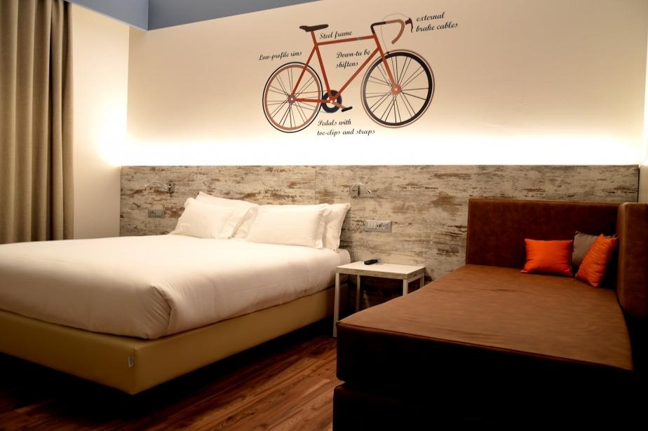 Spazio e modernità nelle camere di Soave Hotel
