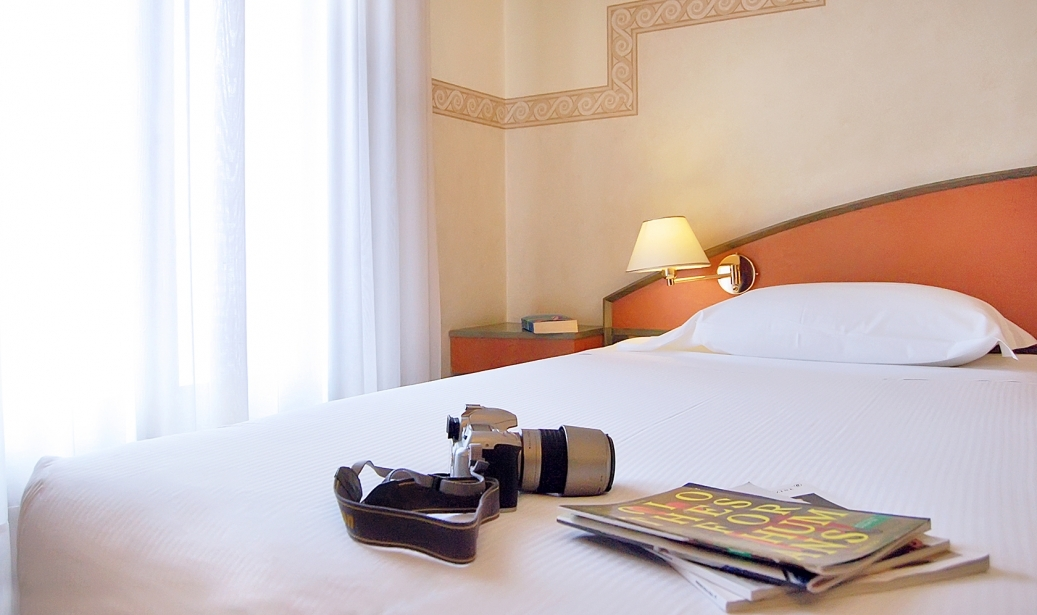 Great value for money in the rooms of Soave Hotel