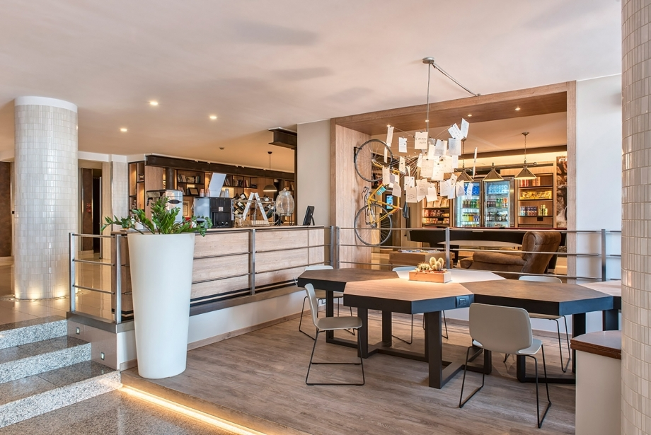 Modernity and style at the Soave Hotel