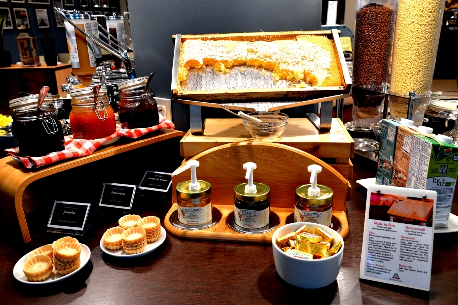 Fresh and genuine products at the Soave Hotel