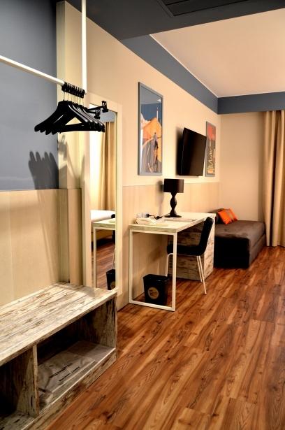 I servizi nelle camere di Soave Hotel