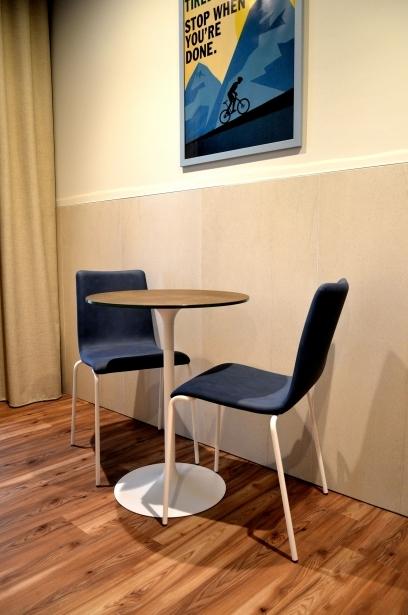 Zona giorno nelle camere Comfort Life al Soave Hotel