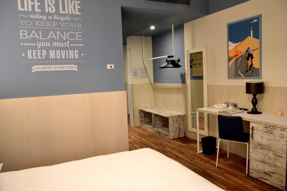 I servizi delle camere del Soave Hotel San Bonifacio