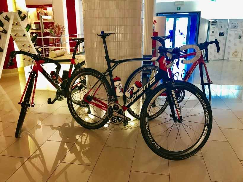 Discover the services dedicated to cyclists at BW Plus Hotel Soave