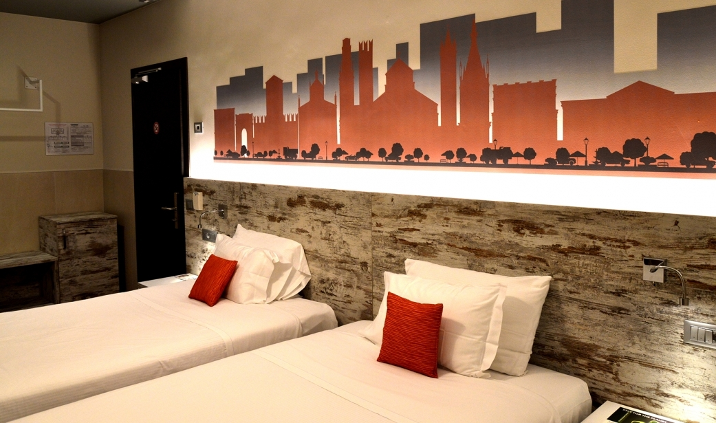 Style and modernity in the rooms of our hotel in San Bonifacio