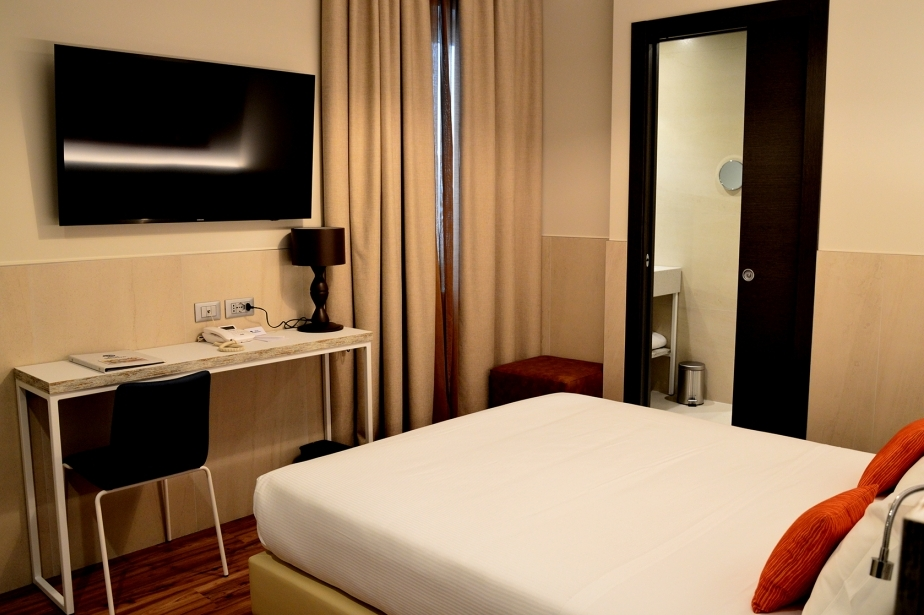 Spacious, flexible and technological the Standard Urban Rooms of Soave Hotel