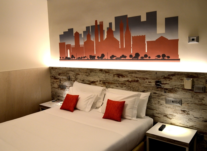 Book your modern room at the Soave Hotel