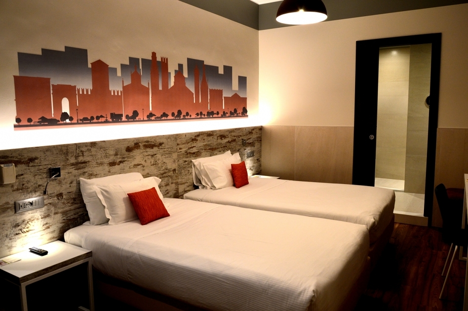 Rooms equipped for guests with disabilities - Soave Hotel