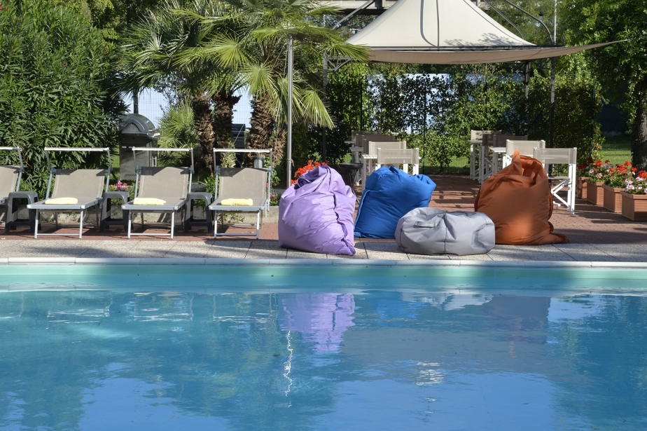 Dive into the pool of Soave Hotel