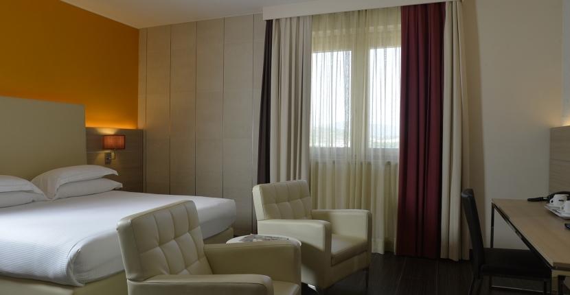 Design innovativo e moderno nelle camere di Soave Hotel
