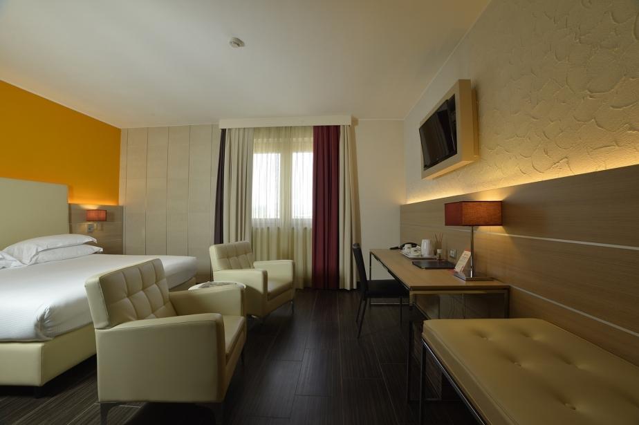 Ampi spazi nelle camere di Soave Hotel a San Bonifacio