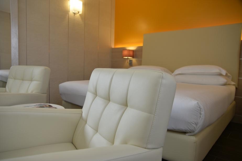Accorgimenti di stile nelle camere di Soave Hotel San Bonifacio