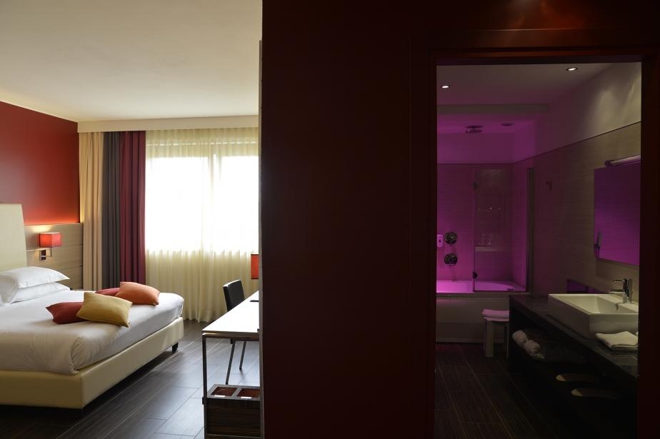 Design e servizi nelle camere del BW Plus Soave Hotel