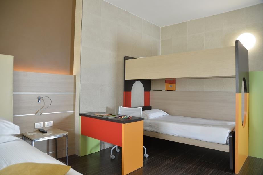 Ampie camere per ogni esigenza - Soave Hotel
